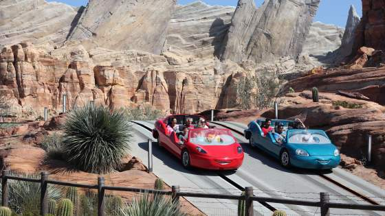 kalifornien - disney-cars- tui