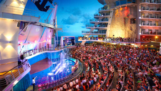 TUI kryssning - Royal Caribbean Harmony of the Seas